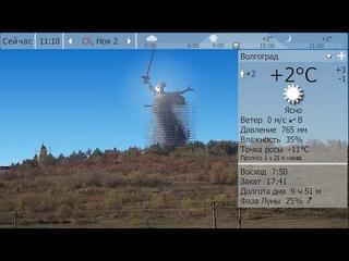 Погода. Волгоград. 1 - 3 ноября 19 г.