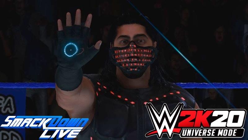 WWE 2K20 Universe SmackDown LIVE На Русском 7