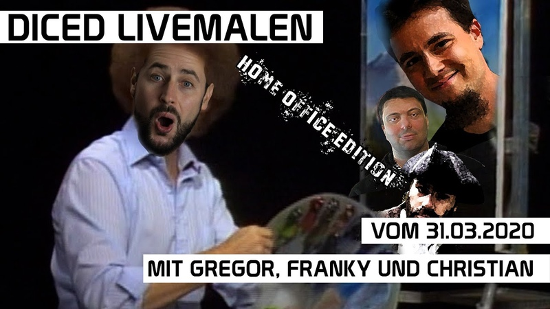 DICED Livemalen - Home Office Editon | mit Gregor, Franky und Christian | DICED