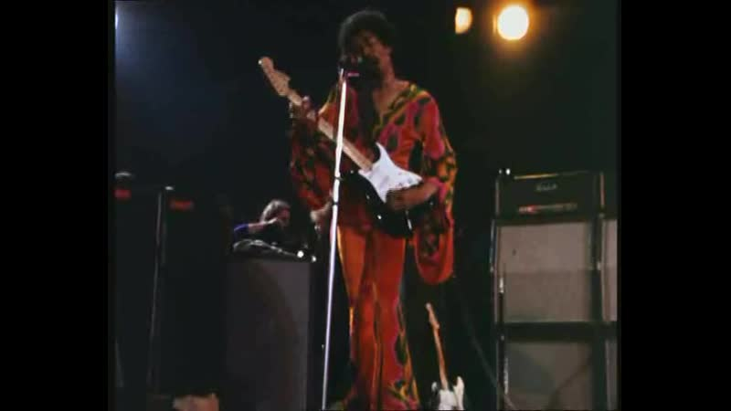 Jimi Hendrix. Live at the Isle of Wights. August, 1970.