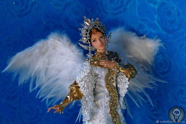 Лариса Исаева, мастер кукол из Екатеринбурга, Россия.