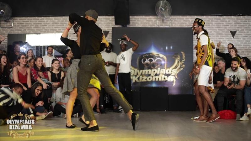 Elhadj Lysis VS Nadou Céline Olympiads Of Kizomba 2019 🏆 Authentic Final