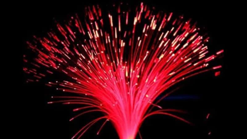 Beautiful Romantic LED Fiber Optic Nightlight Lamp Color Changing