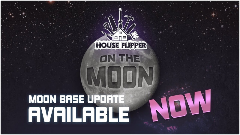 Flipping on the Moon House Flipper's April Fools' update