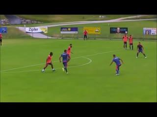 Футбольные атакующие упражнения 3 против 2 + 1 Gk
