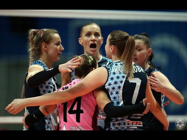 Dinamo Krasnodar vs Dinamo Kazan l 2019 20 Russian Women Volleyball Super League l 10 Feb 2020