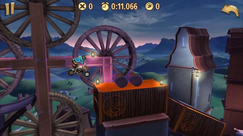 Trials Frontier WRs - Wacky Rifts / Donkey (18.629) by captainchun2016 (iOS)