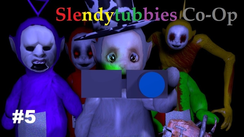 Сo Op забег в Slendytubbies 5