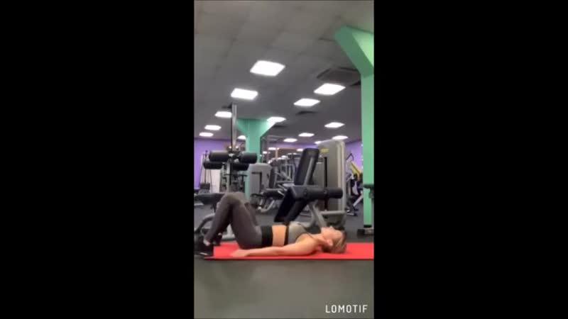 Тренировка с фитнес резинкой Тренер Ольга Елисеева
