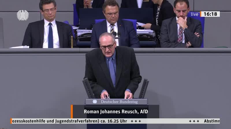 Ziele der EU Richtlinie sind bei uns längst verwirklicht! Roman Reusch AfD Fraktion im Bundestag