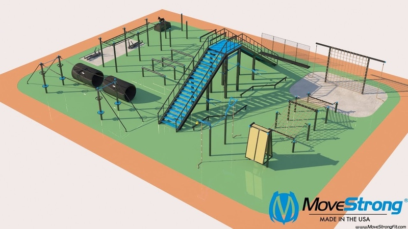 MoveStrong First Responders Obstacle Course Design