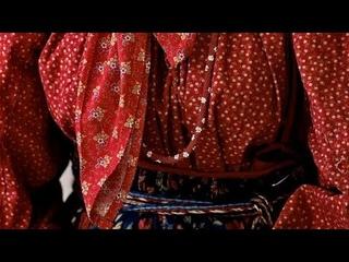 Традиционные ремёсла. Пошив подгрудного сарафана. Занятие 30. Делаем петельки, пришиваем пуговицы.