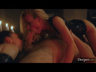 Kayden Kross, Aidra Fox - Valley Of The Fuck Dolls Part Two [Deeper] Threesome, Pussy Licking, Face Sitting, Latex, Facial, 69