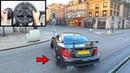 Forza Horizon 4 Drifting Mercedes C63 AMG Logitech g920 Steering Wheel Paddle Shifter Gameplay