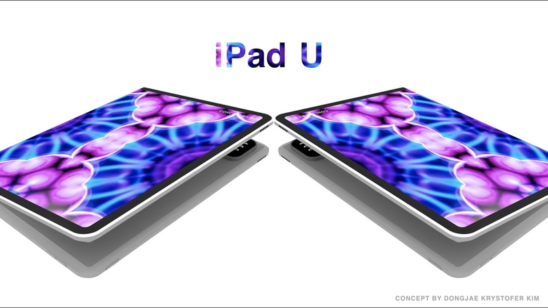 IPad U - Foldable Tablet Keynote Motion Graphics Video