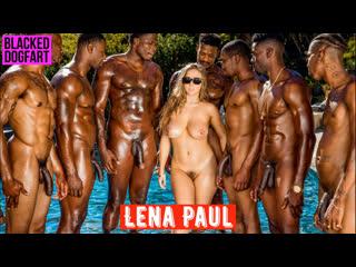 Lena paul 💖 blacked