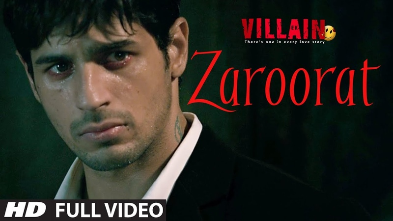 Zaroorat Full Video Song Ek Villain Mithoon Mustafa Zahid