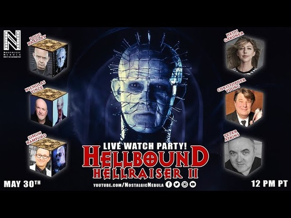 Hellraiser II Watch Party w Cast and Crew Reunion