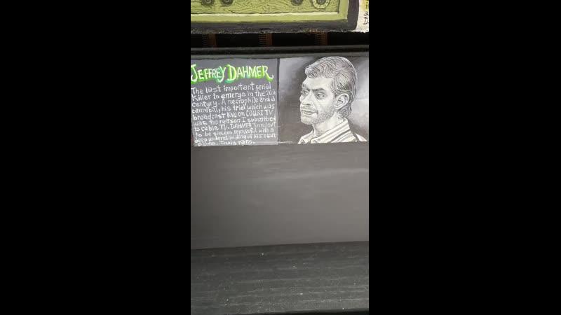 Joe Coleman Jeffrey Dahmer