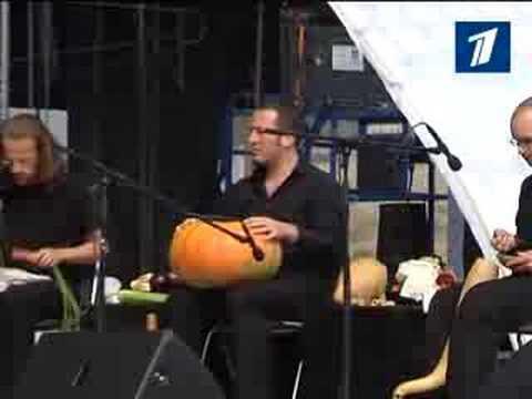 Флейта из моркови барабан из тыквы Овощной Оркестр