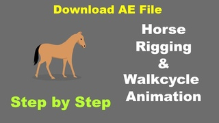 Horse Rigging and Walk cycle Animation Part - 1