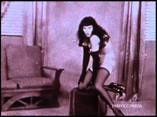 Bettie Page dance no.2 to 'Rumble' by Link Wray