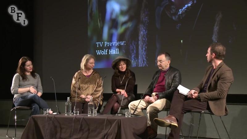 8 января 2015 › Пресс конференция сериала Волчий зал на фестивале организованном Британским институтом кино и Radio Times