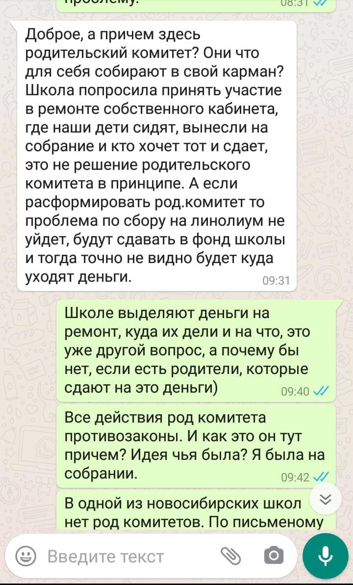 «Никакого ремонта не было 15 лет!»: мать-одиночка из Новосибирска пожаловалась на школьные поборы