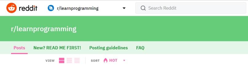 Программировать с нуля: Большой FAQ от Reddit   ВКонтакте