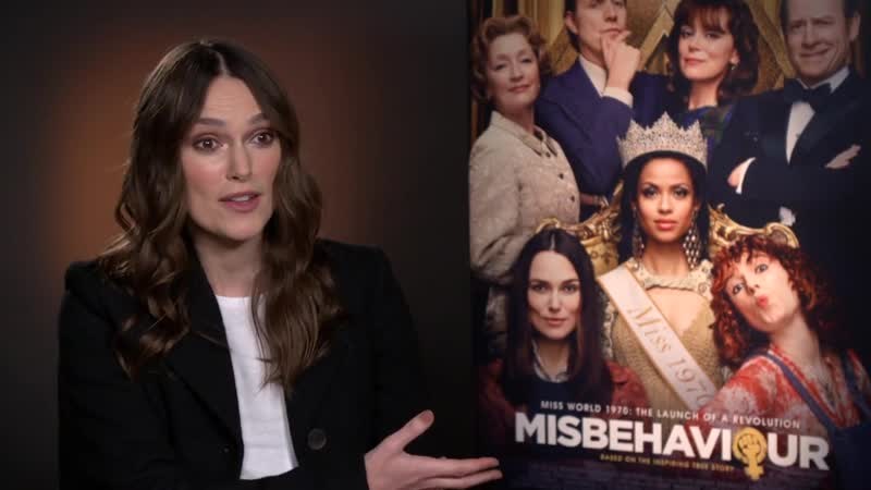 MISBEHAVIOUR Keira Knightley opens up about her daughters growing up in a sexist world