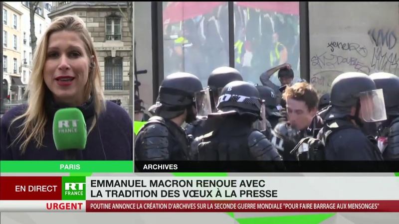 Vœux à la presse les rapports compliqués entre Emmanuel Macron et les journalistes