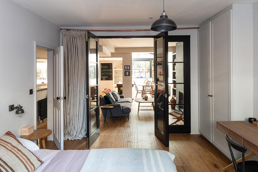 Квартира с собственным двориком в историческом доме в Лондоне    01