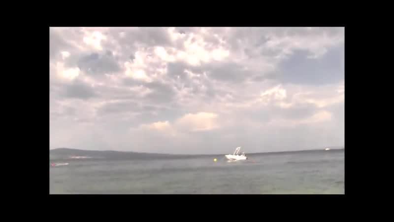 Катя Кловер на нудистском пляже