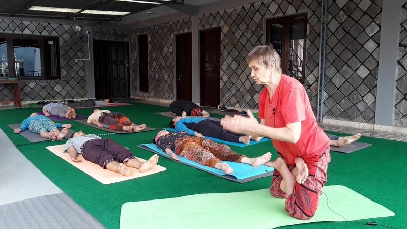 Урок йоги с подробным объяснением Татьяна Марина