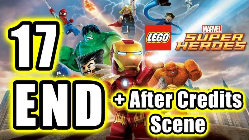 LEGO Marvel Super Heroes ENDING After Credits Scene Walkthrough PART 17 PS3 TRUE HD QUALITY