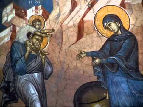 ☦ ☦ ☦ Сербский византийский хор Девета пjесма Канона на Божић