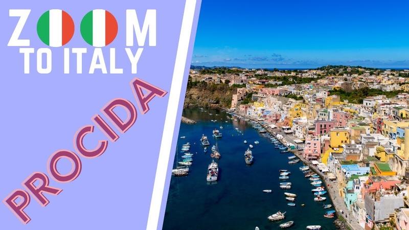 Zoom Italy Procida Golfo di Napoli Mar Tirreno