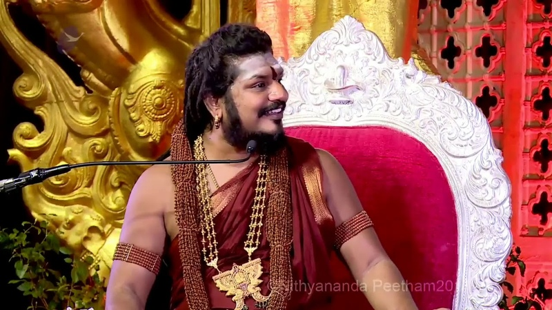 Infinity of one God mentally retarded theory Avatar as per Hinduism Paramahamsa Nithyananda