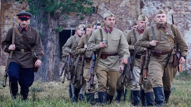 Военные Фильмы РАЗВЕДВЗВОД ЛЕЙТЕНАНТА СОРВИГОЛОВА Военное Кино Фильмы 1941 45