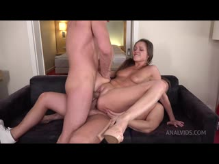 DP Cute Liza Shay With Big Ass Tried Two Cocks - All Holes - Big Anal Gape 030 Anal, Ass Licking, ATM, ATP, Big Butt, Blowjob
