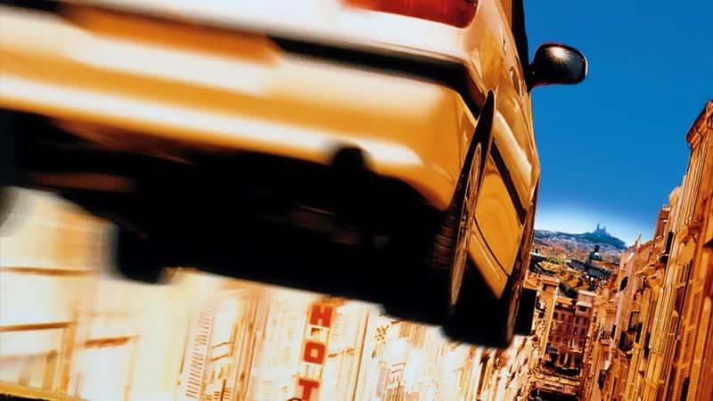 Такси Taxi 1 часть 1998 год Даниэль Моралес Молодой таксист водитель Автомобиль Peugeot 406 Вези я сказала Сами Насери