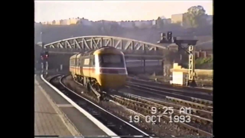 Trains In The 1990s Bristol Temple Meads Bath Road Depot October 1993