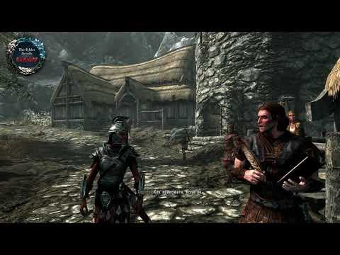 Morrowind Oblivion Skyrim реакция NPC на расу героя при старте игры