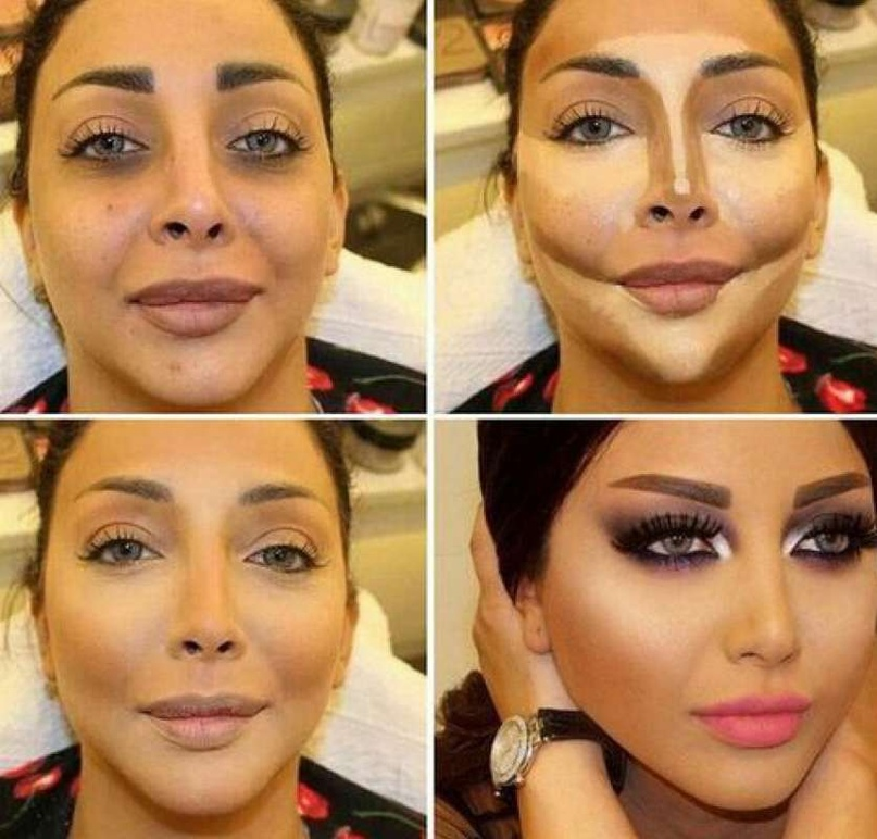 Контурирование лица: пошаговая инструкция..., изображение №10