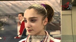 * In Interview: Aliya Mustafina (RUS)