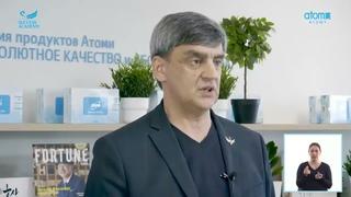 История успеха Бриллиантового Мастера  Андрея Мурзина в компании Atomy