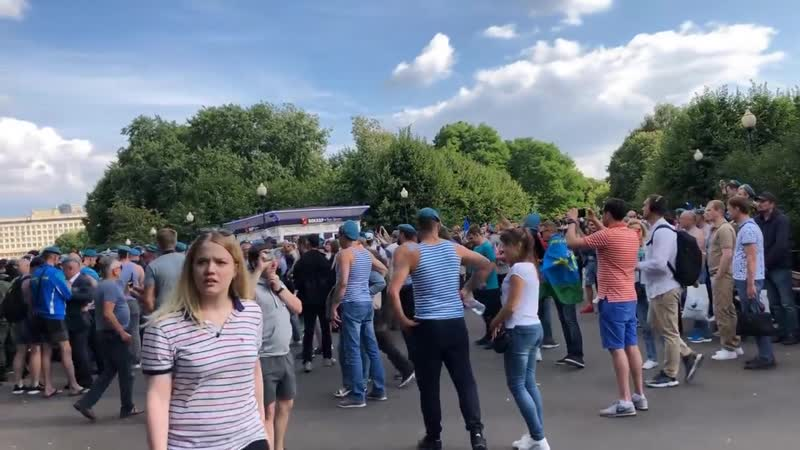 Десантура против росгвардии на день ВДВ