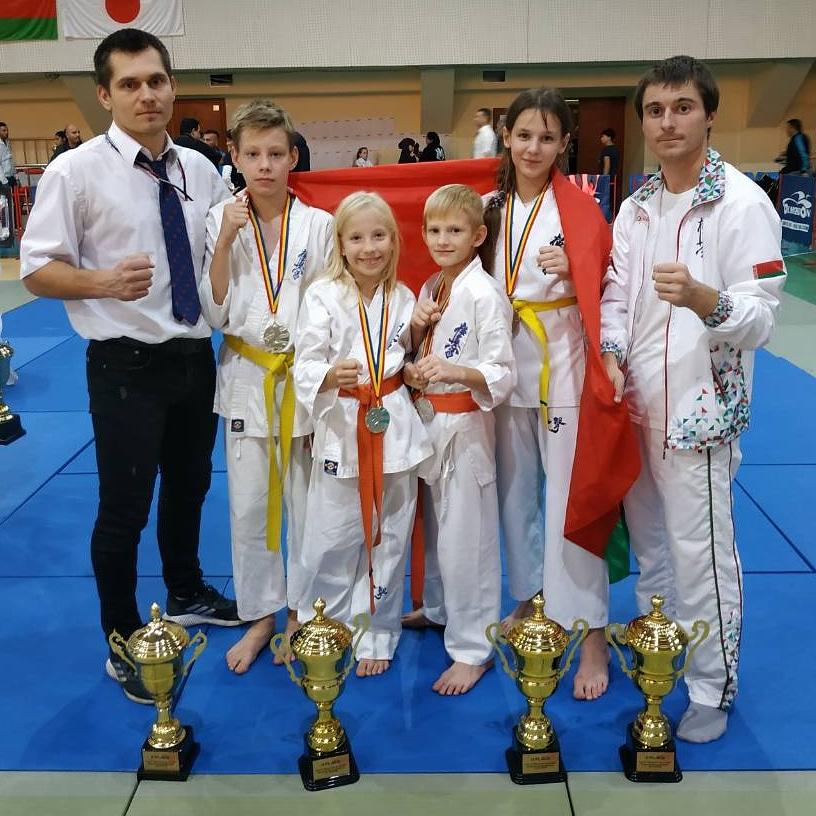 Результаты Школы карате Кайман на Открытом Чемпионате Молдовы 2019