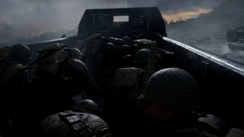 Call of Duty WWII Эпизод I Накуй с Пляжа