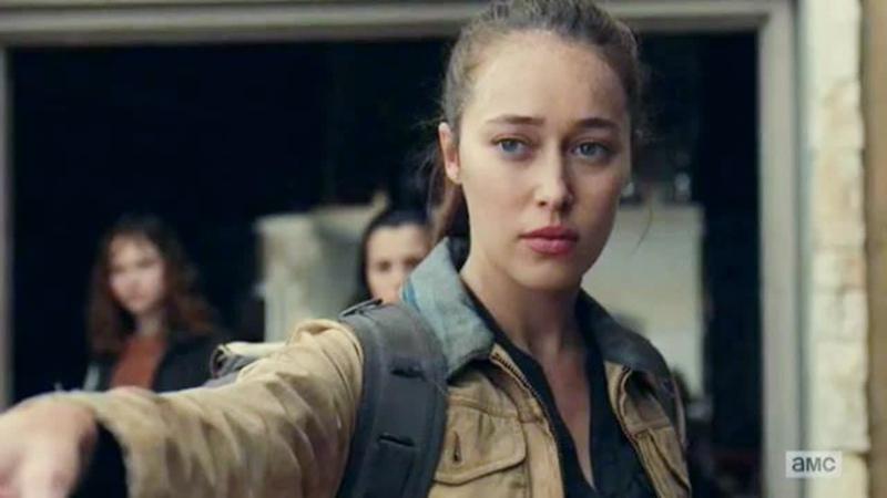 Бойтесь ходячих мертвецов 6 сезон 7 серия Алиша Кларк 10